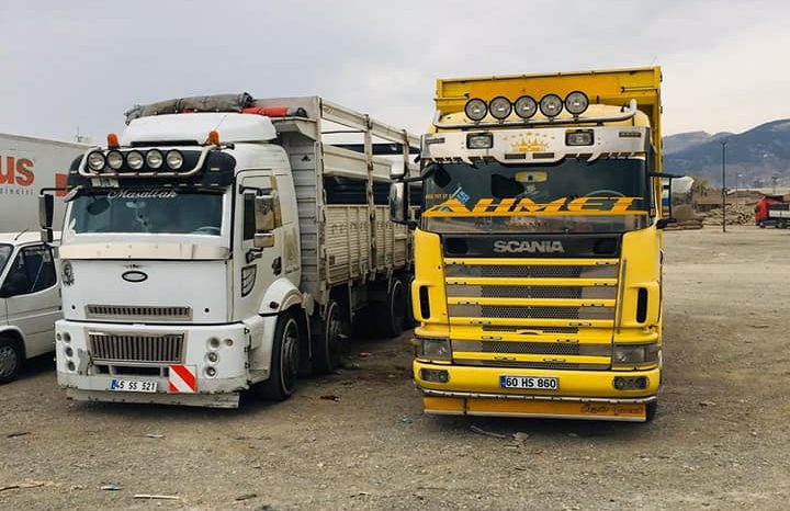 Scania 360 Vabis dolu