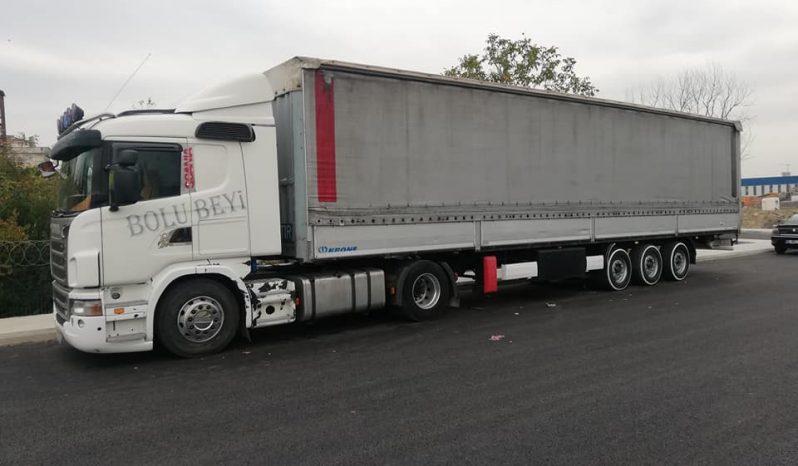 Scania G400 ve Krone dolu